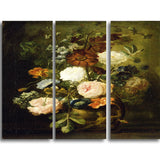 MasterPiece Painting - Vase of Flowers 16Wx32H