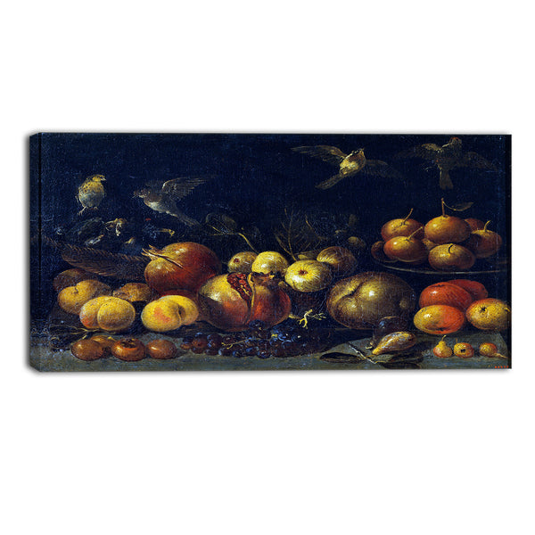 MasterPiece Painting - Tommaso Realfonso Still Life with Pomegranates
