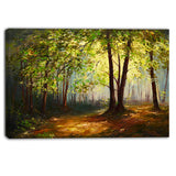 summer forest landscape canvas art print PT6000-1