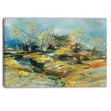 abstract landscape abstract canvas art print PT6009