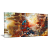 artistic brown abstract canvas artwork PT6013