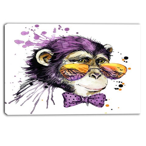 cool monkey animal canvas artwork PT6037