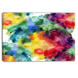 abstract watercolor texture abstract canvas artwork PT6038