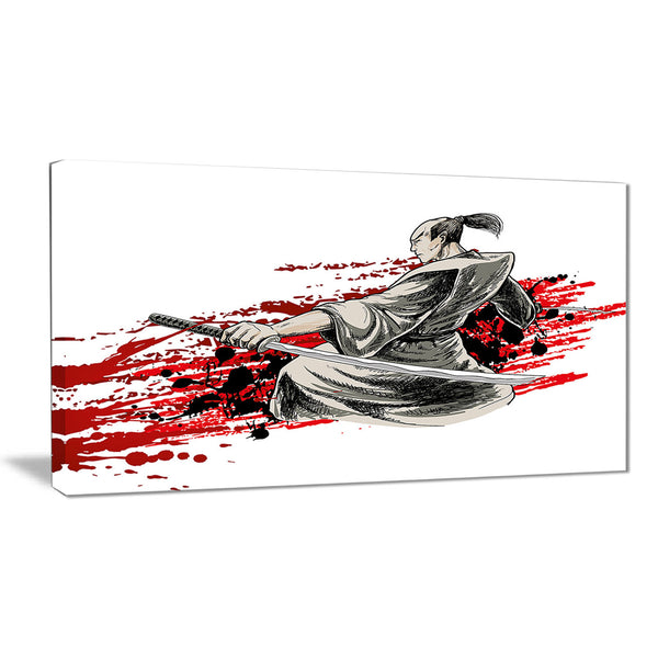 japan warrior – japanese canvas artwork PT6049