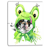 french bulldog illustration animal canvas artwork PT6054