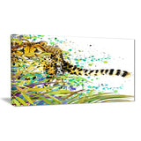 the predator illustration art animal canvas artwork PT6066