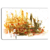 abstract composition art abstract canvas art print PT6127