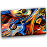 abstract music and rhythm abstract canvas art print PT6152