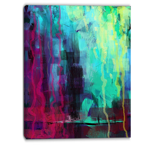 abstract digital painting abstract canvas art print PT6184