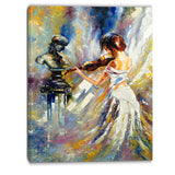 love with endless music abstract canvas art print PT6208
