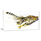 cheetah illustration artwork animal canvas print PT6245