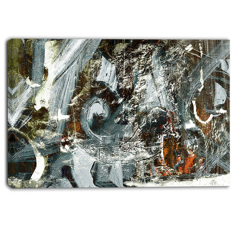 contemporary abstract design abstract canvas print PT6370