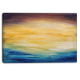 abstract water sunset abstract canvas print PT6374