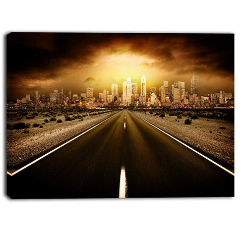 world's end landscape photography canvas art print PT6406