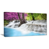 erawan waterfall photography canvas art print PT6451