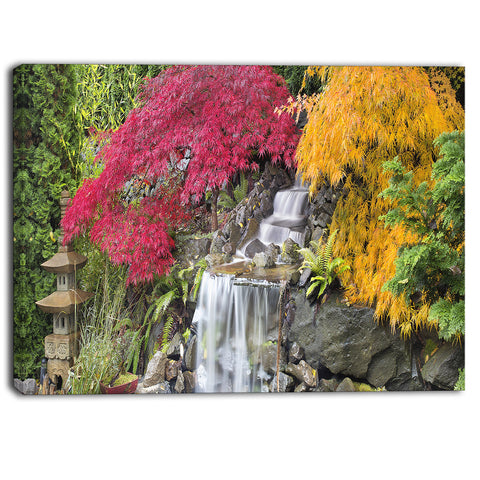 japanese maple trees floral photography canvas print PT6481