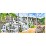 pongour waterfall photography canvas art print PT6484