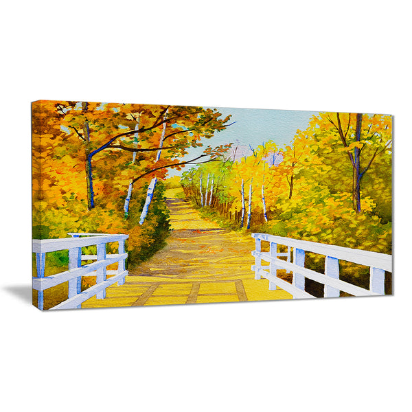 parkland trails photography canvas art print PT6506