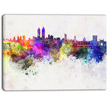 mumbai skyline cityscape canvas wall art print PT6589
