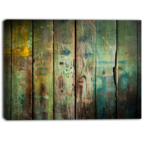 old wood pattern contemporary canvas art print PT6725