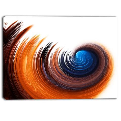 elegant spiral design digital canvas art print PT6761