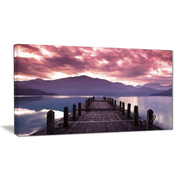 beautiful spring sea at morning photo canvas art print PT6841