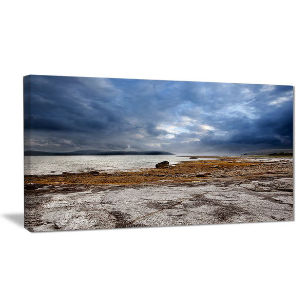 norway ocean coast land photo landscape canvas print PT6896