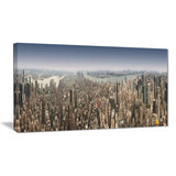 nyc 360 degree panorama cityscape photography canvas print PT6902
