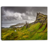 storr mountains panorama landscape photo canvas print PT6915