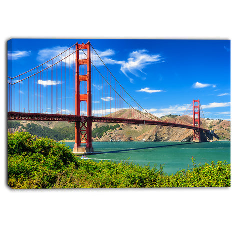 san francisco golden gate landscape photo canvas print PT6924
