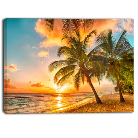 barbados landscape photography canvas art print PT6932