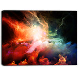 colorful nebulae contemporary artwork PT6984