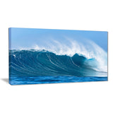 sky hitting ocean waves seascape canvas art print PT6997