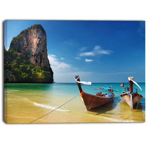 andaman sea tropical beach photography canvas print PT7000
