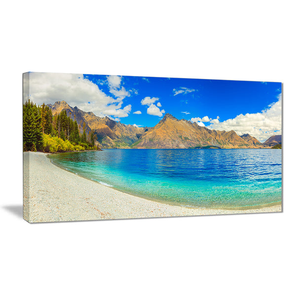 lake wakatipu landscape photo canvas art print PT7018
