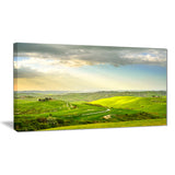 rural sunset landscape photography canvas print PT7022