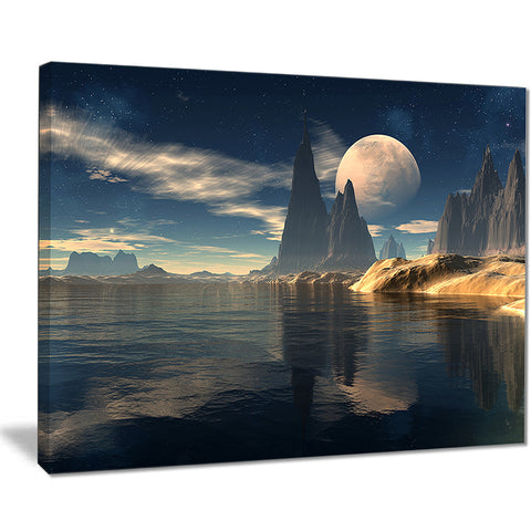 antara alien planet photography canvas print PT7025