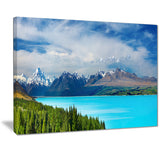 mount cook new zealand landscape photo canvas print PT7085