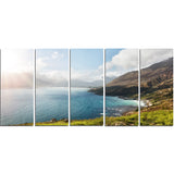 hout bay view from chapman's peak canvas art print PT7201