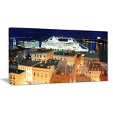quebec city cityscape photo canvas art print PT7340