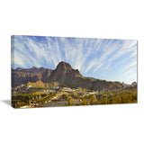 sunrise over ei teide national park landscape canvas print PT7366