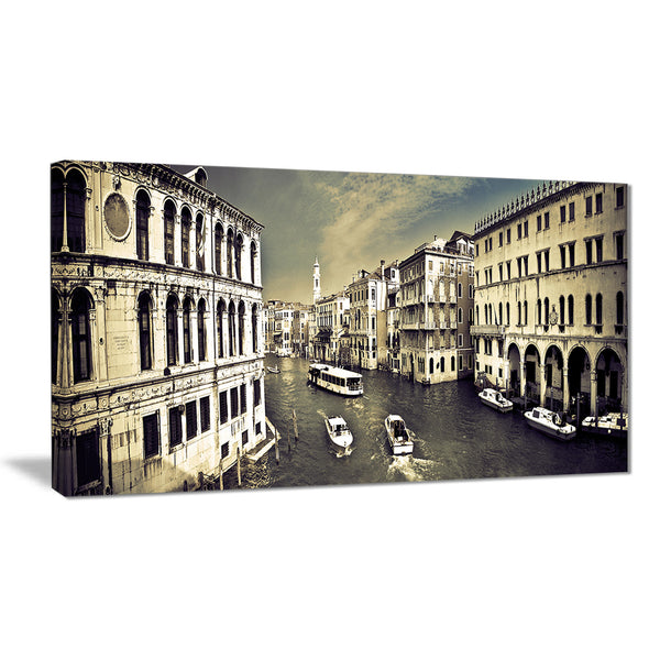 venice cityscape photography canvas art print PT7425
