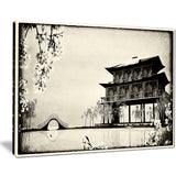chinese ink painting chinese landscape canvas print PT7453