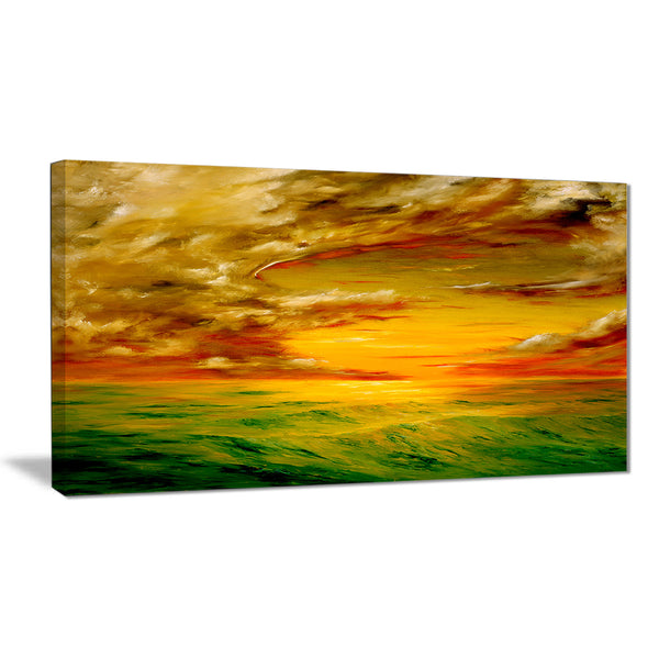 santa rosa california landscape painting canvas print PT7620