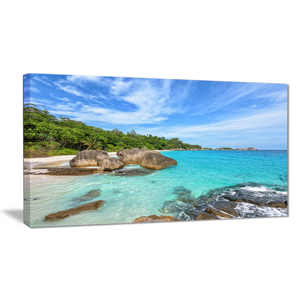 summer sea in thailand landscape photo canvas print PT7666