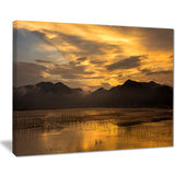 sunrise in xiapu county landscape photo canvas print PT7677