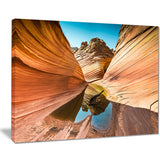 water inside arizona wave landscape photo canvas print PT7678