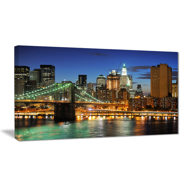 big apple after sunset cityscape photo canvas print PT7682