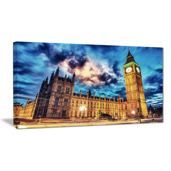 big ben and house of parliament cityscape photo canvas print PT7765