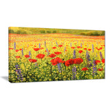 sea of blossom landscape floral art canvas print PT7834